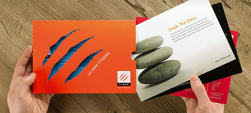 3rock-Corporate-Brochure Folleto Inspiración de diseño (64 ejemplos modernos de folletos)