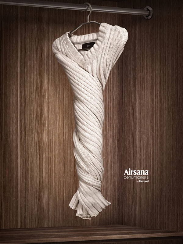 Airsana-dehumidifiers-by-Henkel 500 Creative And Cool Advertisement Ideas