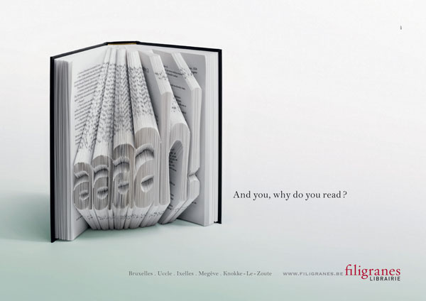 And-you,-why-do-you-read 500 Creative And Cool Advertisement Ideas