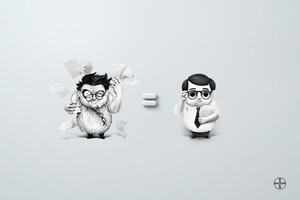 Aspirin 500 Creative And Cool Advertisement Ideas