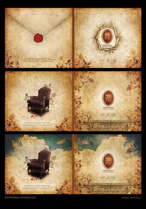 Attitude-Brochure Folleto Inspiración de diseño (64 ejemplos modernos de folletos)