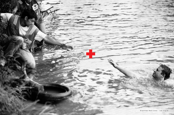 Brazilian-Red-Cross 500 Creative And Cool Advertisement Ideas