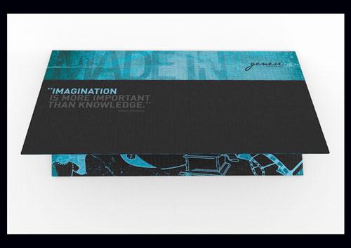 Creative-Brochure-Genesi Brochure Design Inspiration (64 ejemplos modernos de folletos)