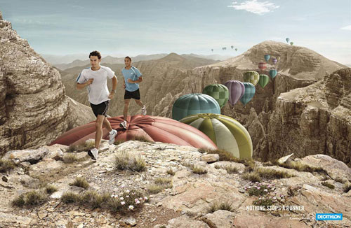 Decathlon-2 500 Creative And Cool Advertisement Ideas