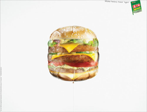 ENO-Make-heavy-meal-light 500 Creative And Cool Advertisement Ideas