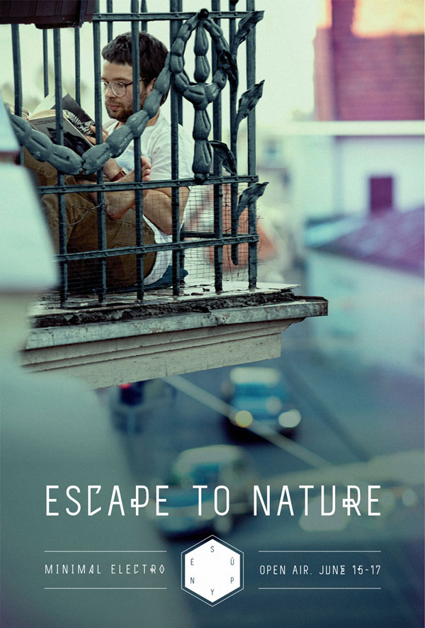 Escape-to-nature 500 Creative And Cool Advertisement Ideas