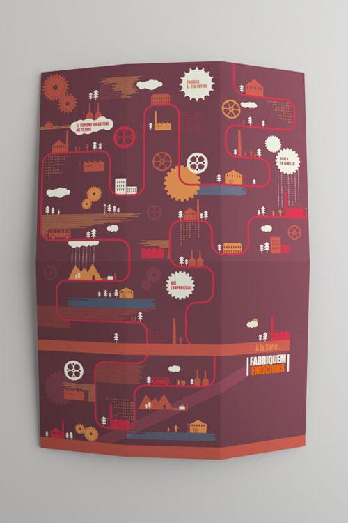 Fabricamos-Emociones Brochure Design Inspiration (64 Modern Folleto Examples)
