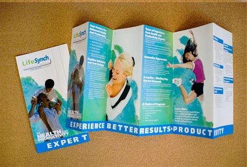 Inspiración del diseño del folleto de las capacidades de LifeSynch-folleto (64 ejemplos modernos del folleto)