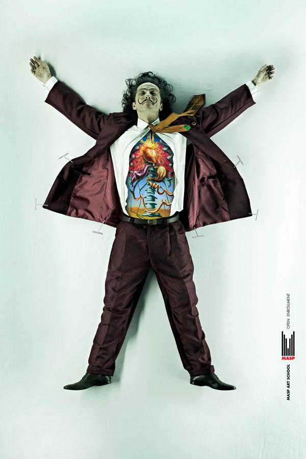 MASP-Art-School.-Inscripciones abiertas Ideas publicitarias: 500 creativos y frescos anuncios