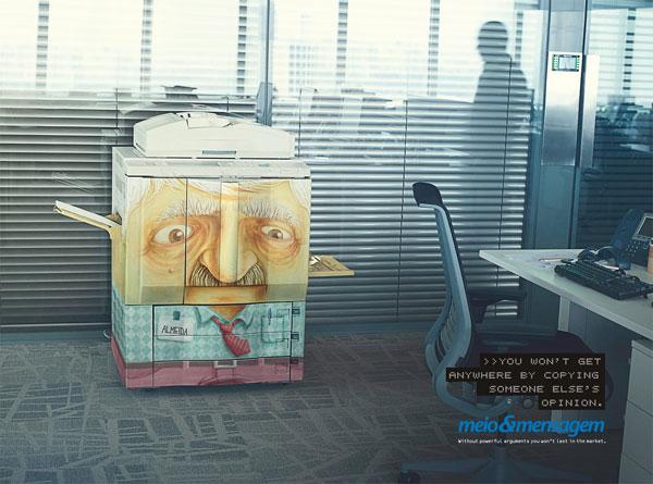 Meio-e-Mensagem 500 Creative And Cool Advertisement Ideas