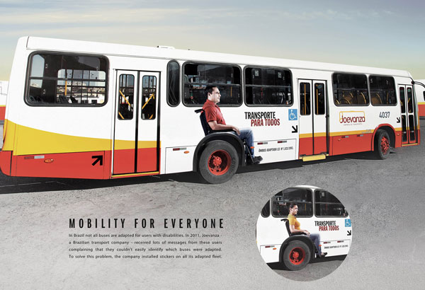 Mobility-for-Everyone 500 Creative And Cool Advertisement Ideas
