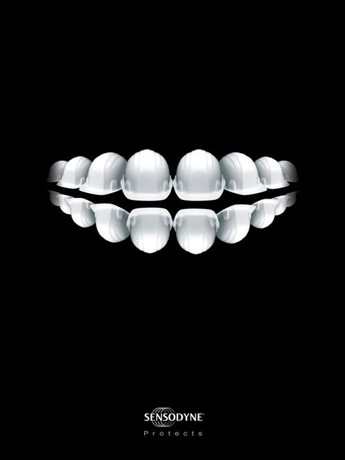 Sensodyne-Protects 500 Creative And Cool Advertisement Ideas