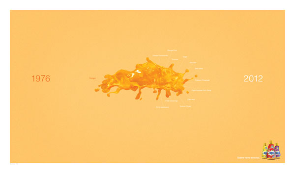 Stains-have-evoluted Advertisement Ideas: 500 anuncios creativos y geniales