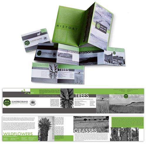 Suikerbosrand-brochure-design Brochure Design Inspiration (64 ejemplos modernos de folletos)