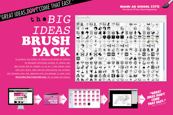 The-Big-Ideas-Brush-Pack 500 Creative And Cool Advertisement Ideas