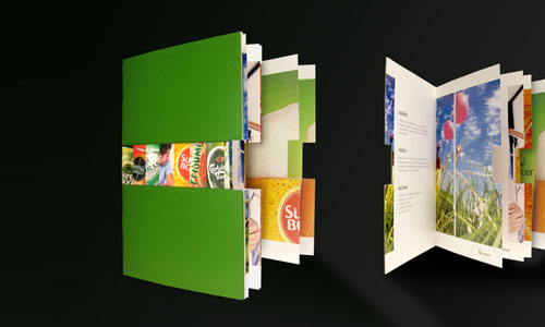 Unicer-Corporate-Brochure Folleto Inspiración de diseño (64 ejemplos modernos de folletos)