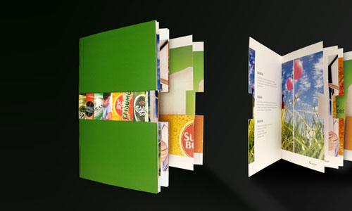 Unicer-Corporate-Brochure Folleto Inspiración de diseño (64 ejemplos modernos de folletos)