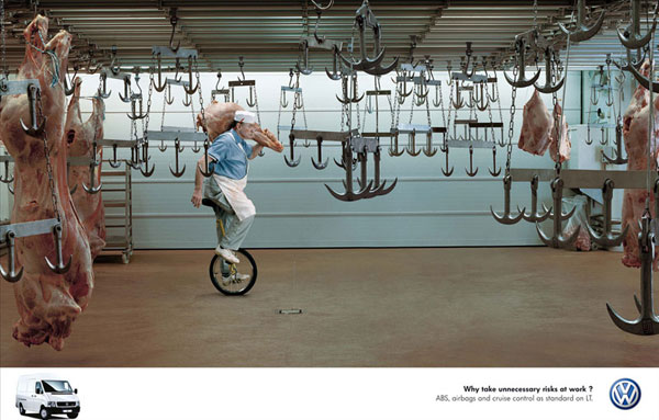 Volkswagen-Commercial-Vehicles 500 Creative And Cool Advertisement Ideas