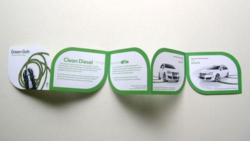 Volkswagen Brochure Design Inspiration (64 ejemplos modernos de folletos)