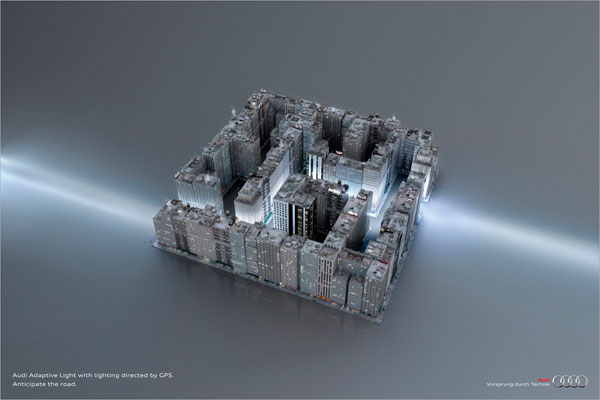 audi_labyrinth 500 Creative And Cool Advertisement Ideas