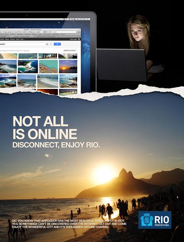 city_of_rio_de_janeiro_disconnect 500 Creative And Cool Advertisement Ideas