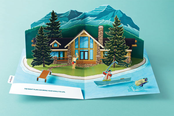 envision_financial_popup_island Advertisement Ideas: 500 anuncios creativos y geniales