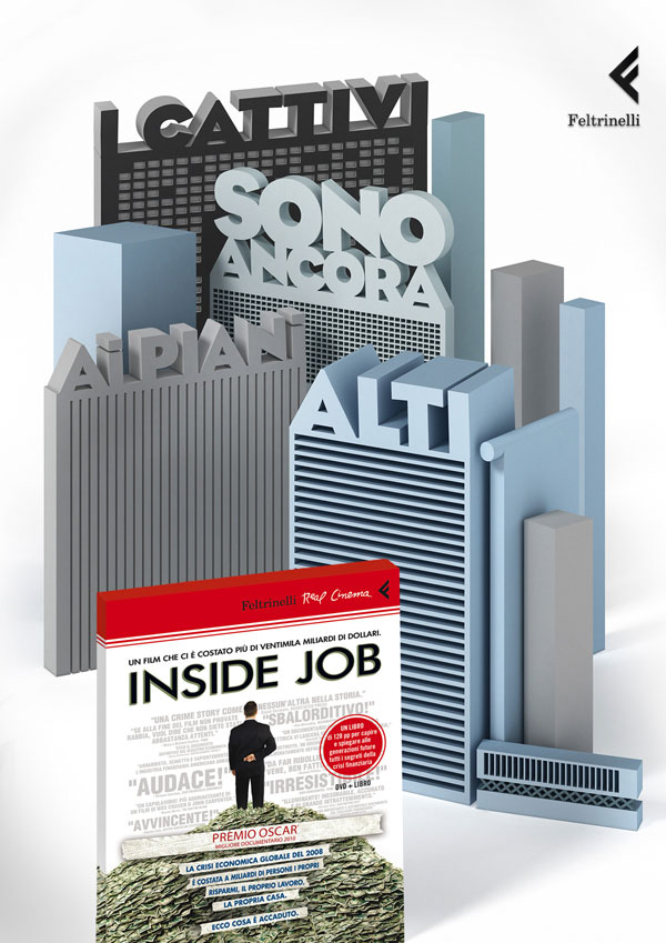 feltrinelli_publisher_inside_job 500 Creative And Cool Advertisement Ideas