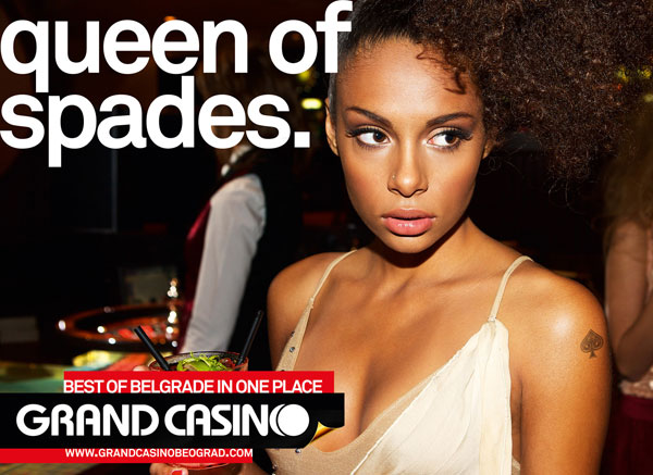 grand_casino_beograd_queen_of_spades Advertisement Ideas: 500 anuncios creativos y geniales