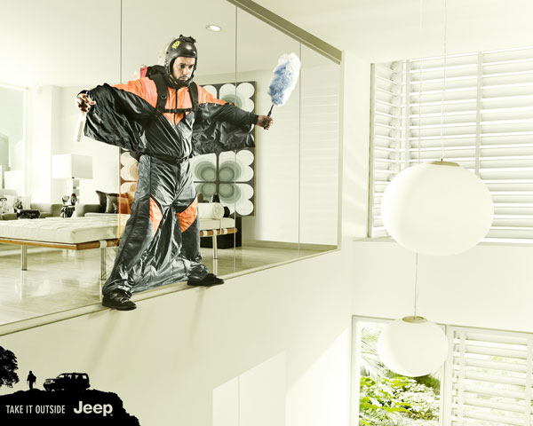 jeep_skydiver 500 Creative And Cool Advertisement Ideas