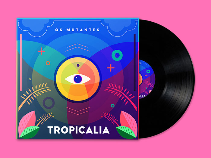 osmutantes_tropicalia_tribute Cómo hacer una portada del álbum: 50 ejemplos de diseño de portada del álbum