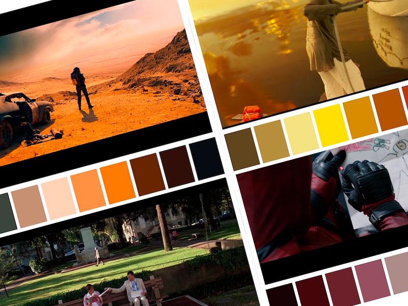 Paleta De Colores En Películas Famosas Ideakreativa