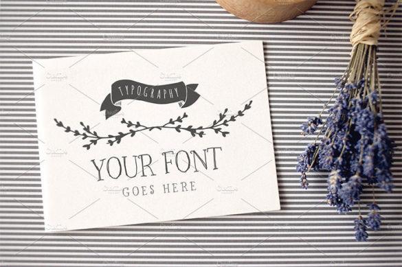 1- Plantillas de maquetas de logotipos para descargar y usar para presentar tus logotipos