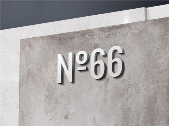 3D-Wall-Logo-MockUp-3-I Plantillas de maquetas de logotipos para descargar y usar para presentar sus logotipos