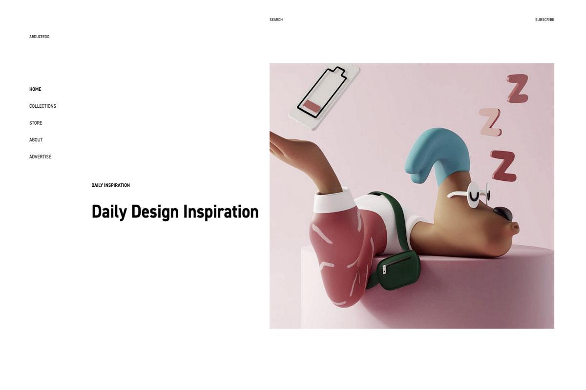 Abduzeedo design