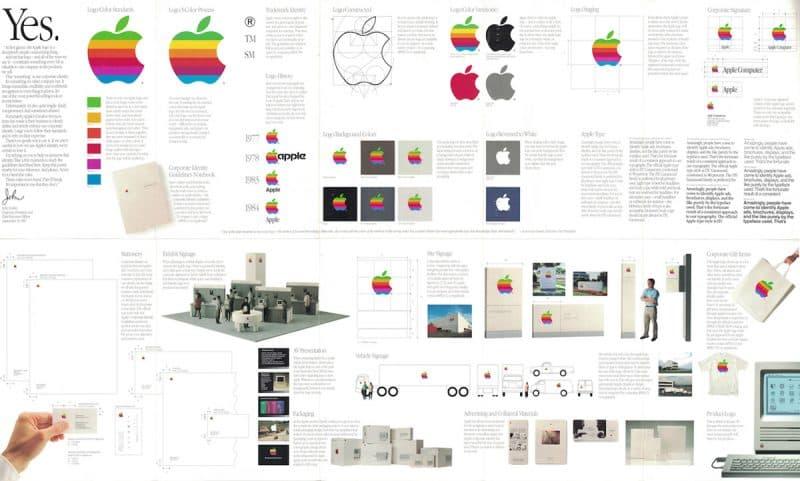 Identidad corporativa de Apple