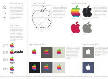 identidad corporativa de apple