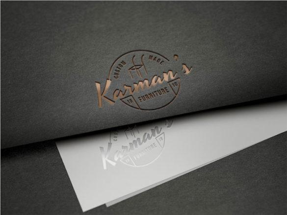 Branding-Logo-Mockup-PSD- Plantillas de maquetas de logotipos para descargar y usar para presentar sus logotipos