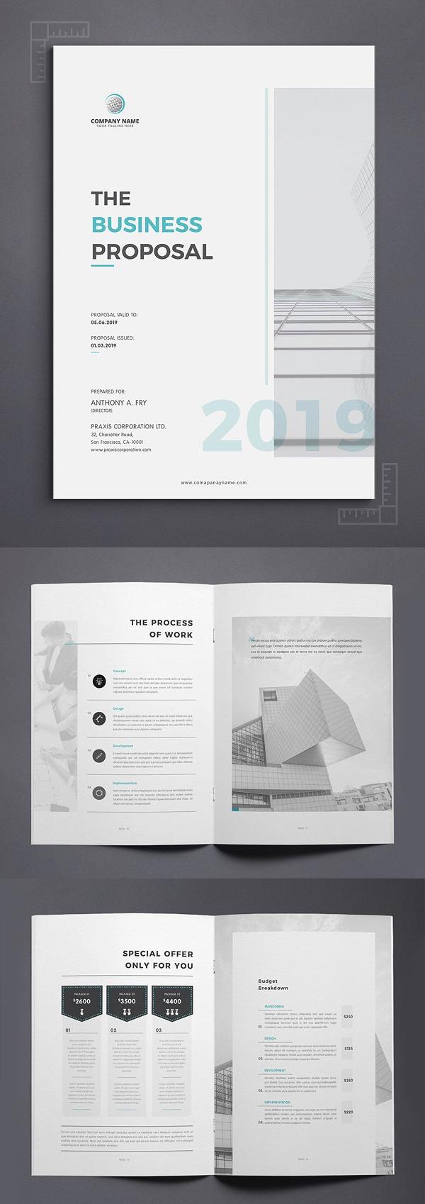 Diseño de mockups de propuesta de negocio profesional - 1