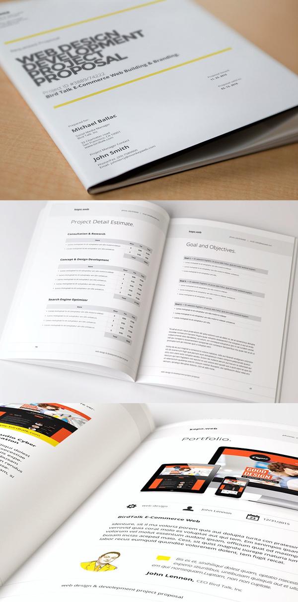 Diseño de mockups de propuesta de negocio profesional - 10
