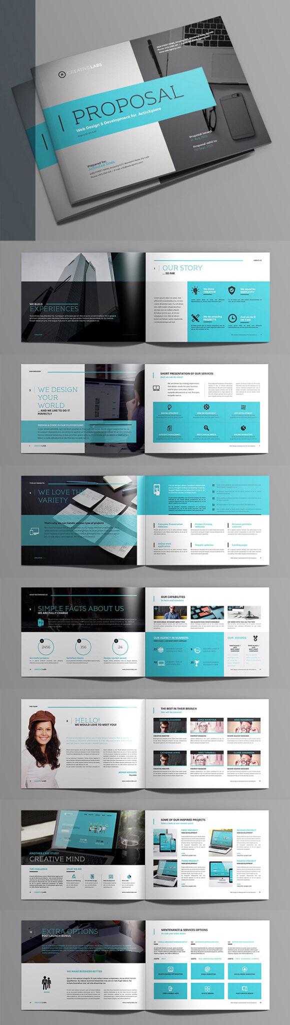 Diseño de mockups de propuesta de negocio profesional - 11