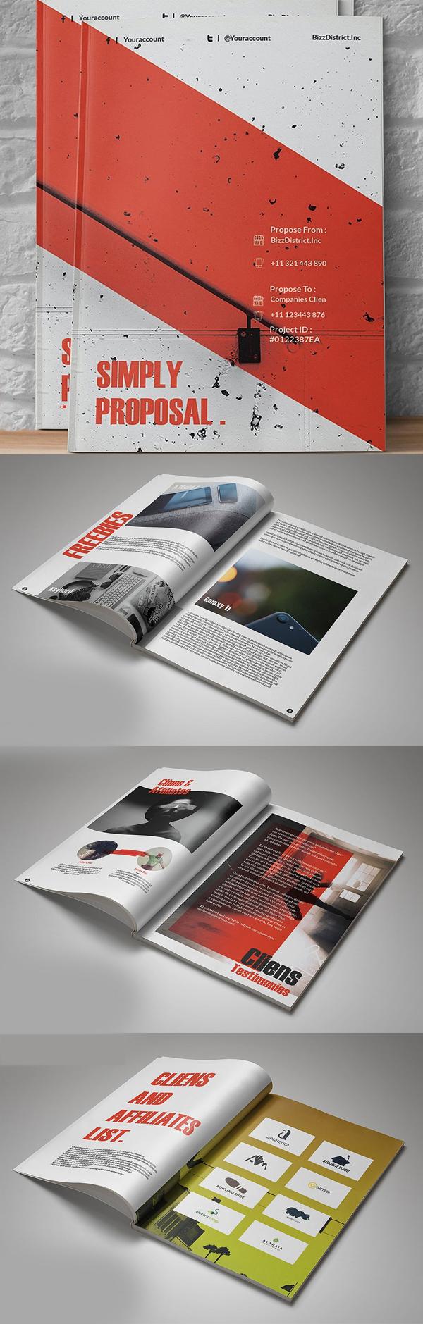 Diseño de mockups de propuesta de negocio profesional - 12