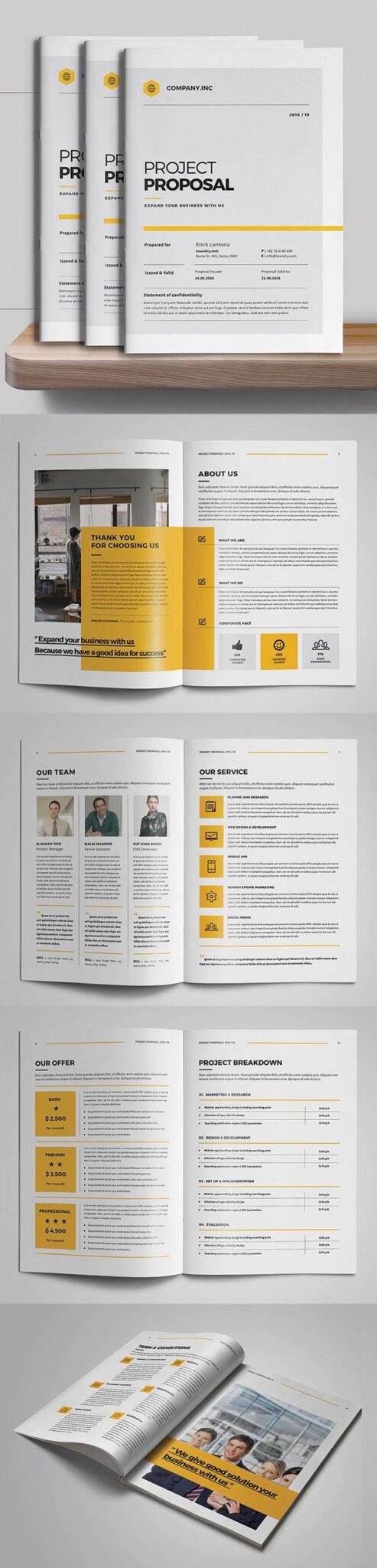Diseño de mockups de propuesta de negocio profesional - 13