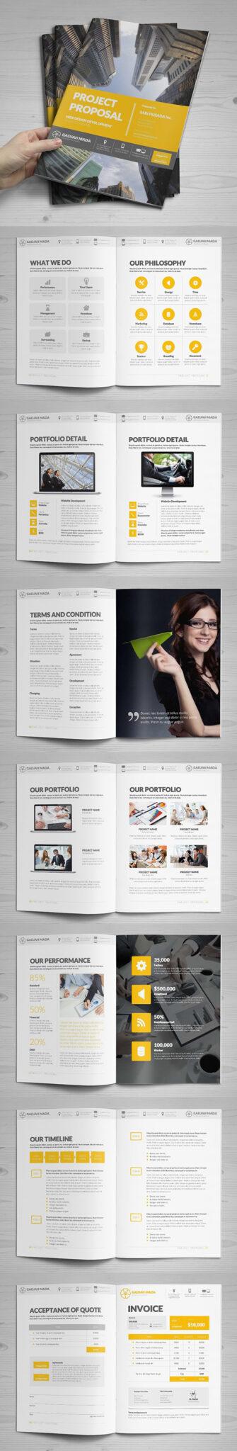 Diseño de mockups de propuesta de negocio profesional - 14