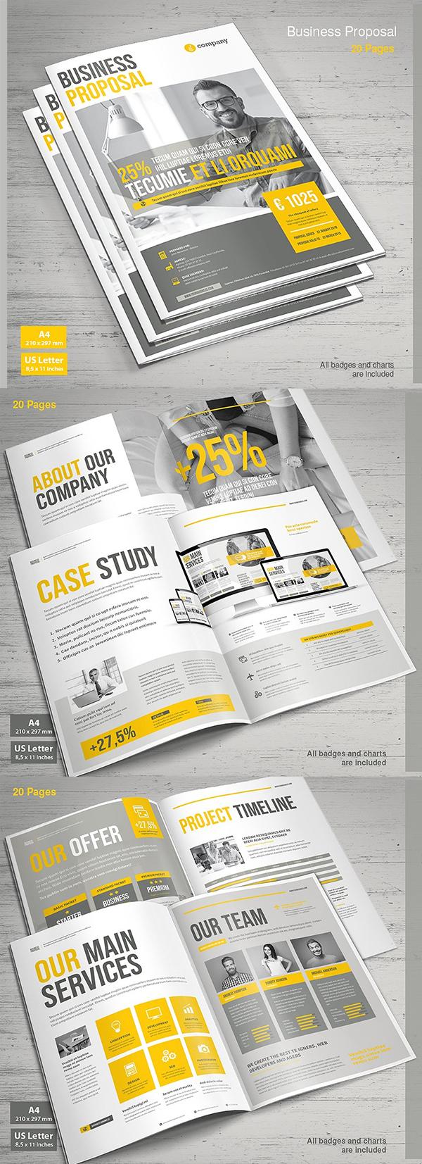 Diseño de mockups de propuesta de negocio profesional - 15