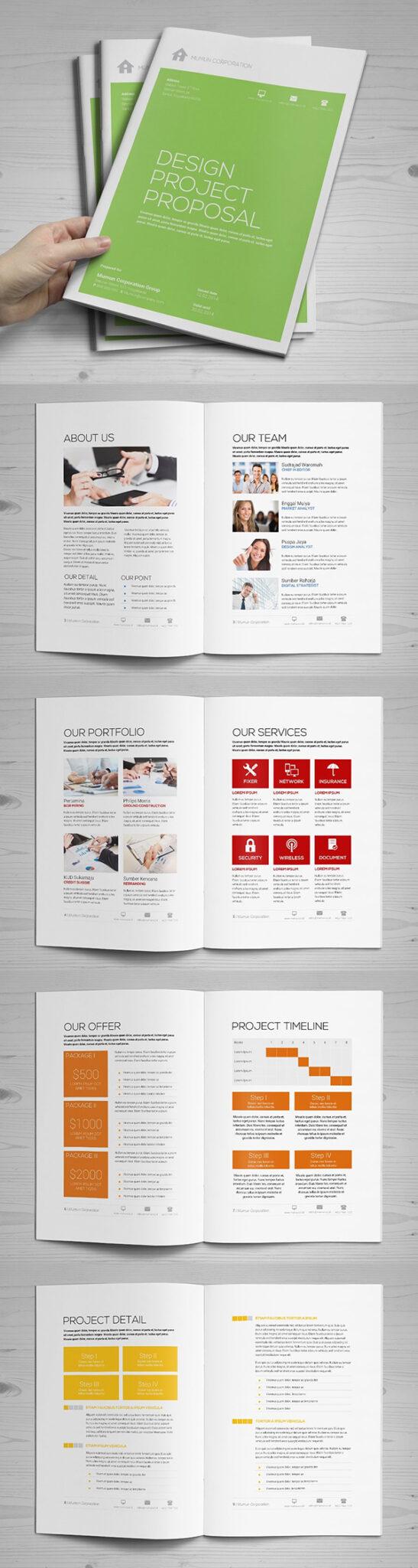Diseño de mockups de propuesta de negocio profesional - 16
