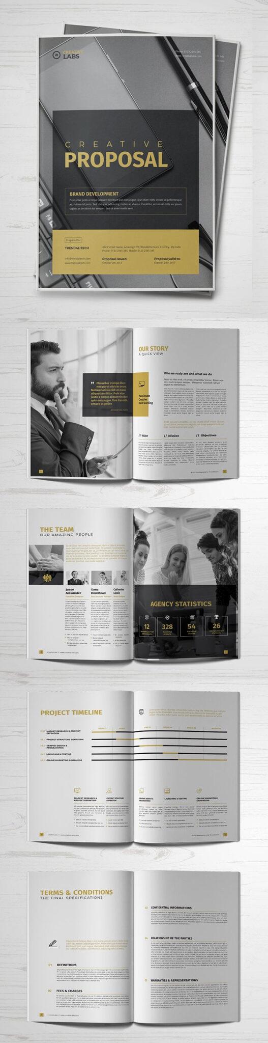 Diseño de mockups de propuesta de negocio profesional - 18