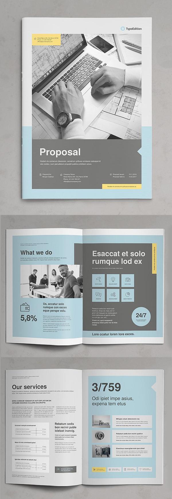 Diseño de mockups de propuesta de negocio profesional - 19