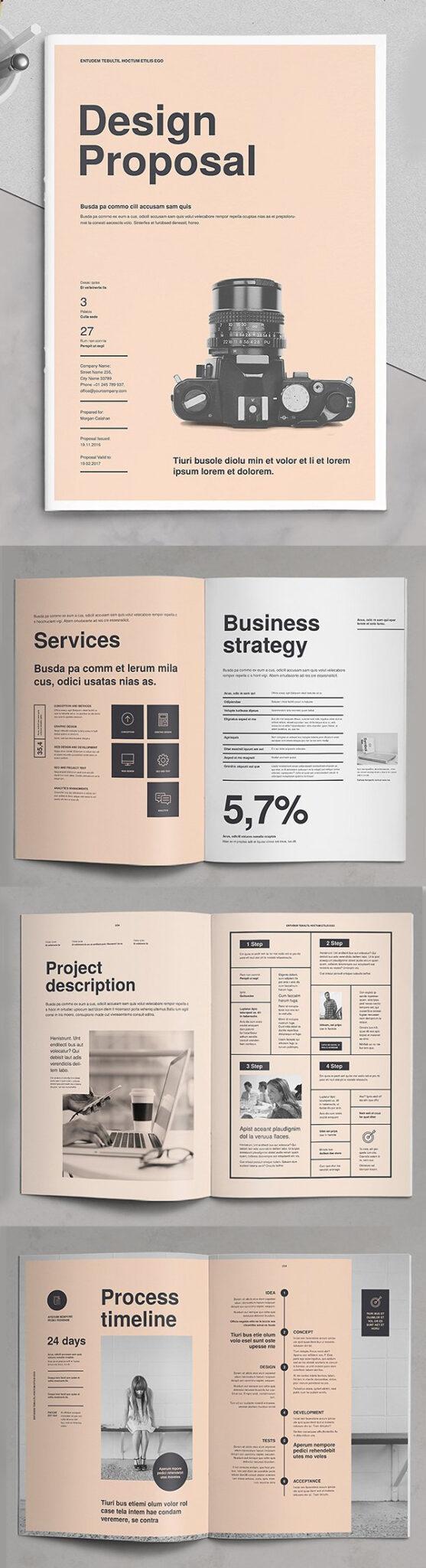 Diseño de mockups de propuesta de negocio profesional - 2