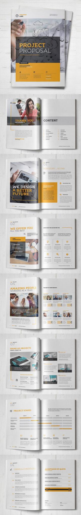 Diseño de mockups de propuesta de negocio profesional - 20