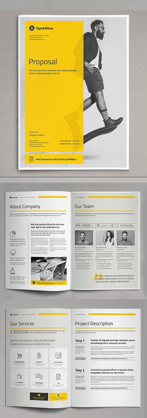 Diseño de mockups de propuesta de negocio profesional - 3